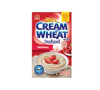 Cream Of Wheat Cereal Hot Instant Original Flavor - 12 Count