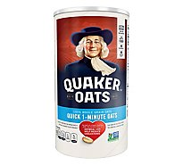 Quaker Oats Quick 1 - Minute - 18 Oz
