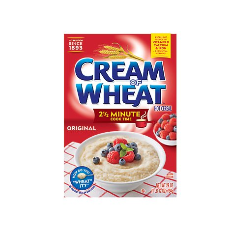Cream Of Wheat Cereal Hot 2 1/2 Minute Cook Time - 28 Oz