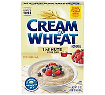 Cream Of Wheat Cereal Hot 1 Minute Cook Time - 28 Oz
