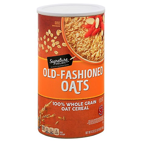 Signature SELECT Oats Old Fashioned - 42 Oz
