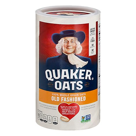 Quaker Oats Old Fashioned - 18 Oz