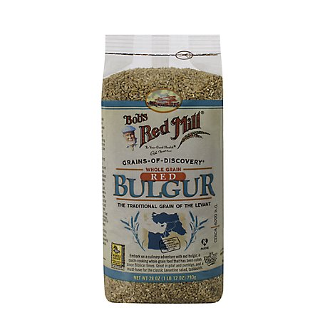 Bobs Red Mill Bulgur 100% Whole Grain Wheat - 28 Oz
