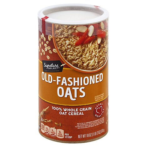 Signature SELECT Oats Old Fashioned - 18 Oz