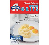 Albers Quick Grits Enriched Hominy - 40 Oz