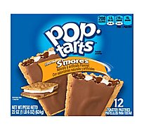 Pop-Tarts Toaster Pastries Frosted Smores 12 Count - 22 Oz