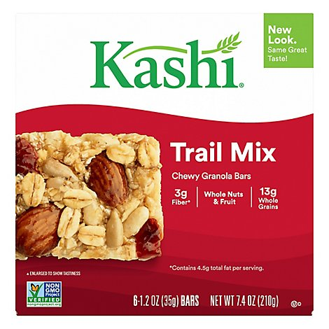 Kashi Granola Bars Chewy Trail Mix - 6-1.2 Oz