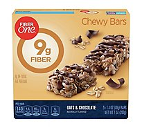 Fiber One Chewy Bars Oats & Chocolate - 5-1.4 Oz