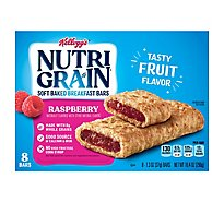 Nutri-Grain Soft Baked Breakfast Bars Raspberry 8 Count - 10.4 Oz