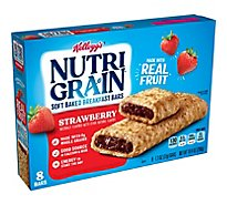 Nutri-Grain Breakfast Bars Soft Baked Strawberry - 8-1.3 Oz