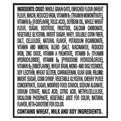 Nutri-Grain Soft Baked Breakfast Bars Cherry 8 Count - 10.4 Oz