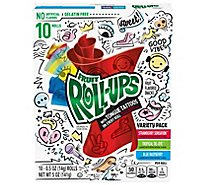 Fruit Roll-Ups Fruit Flavored Snacks Variety Pack - 10-0.5 Oz