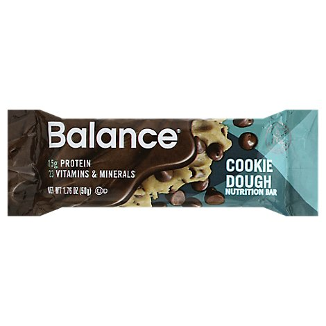 Balance Nutrition Bar Cookie Dough - 1.76 Oz