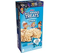 Rice Krispies Treats Crispy Marshmallow Squares Original Single Serve 8 Count - 6.2 Oz