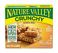 Nature Valley Granola Bars Crunchy Roasted Almond - 6-1.49 Oz