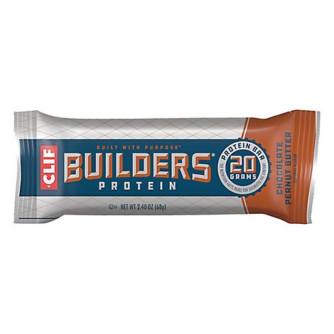 CLIF Builders Protein Bar Chocolate Peanut Butter - 2.4 Oz