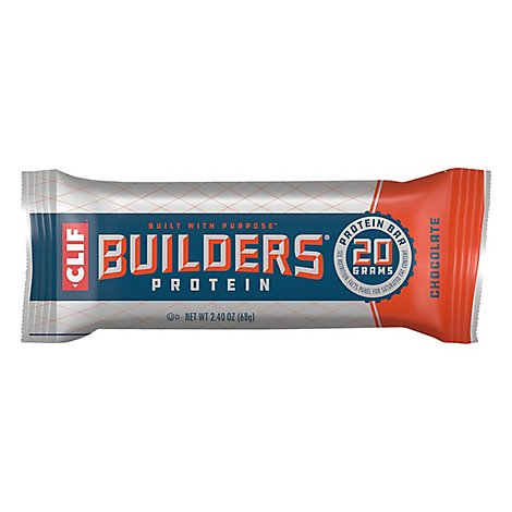 Clif Builders Protein Bar Chocolate - 2.4 Oz