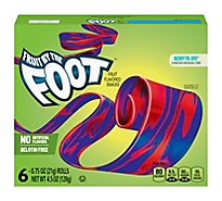Betty Crocker Fruit By The Foot Fruit Flavored Snacks Berry Tie Dye - 6-0.75 Oz