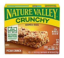 Nature Valley Granola Bars Crunchy Pecan Crunch - 6-1.49 Oz