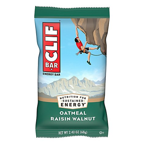 CLIF Energy Bar Oatmeal Raisin Walnut - 2.4 Oz