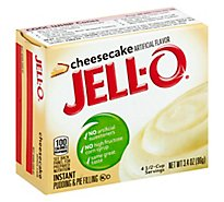 JELL-O Pudding & Pie Filling Instant Cheesecake - 3.4 Oz