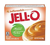 JELL-O Pudding & Pie Filling Instant Butterscotch - 3.4 Oz