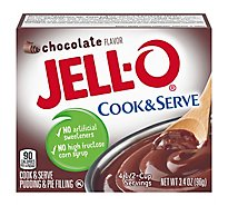 JELL-O Pudding & Pie Filling Cook & Serve Chocolate - 3.4 Oz