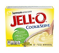 JELL-O Pudding & Pie Filling Cook & Serve Lemon - 4.3 Oz