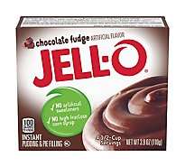 JELL-O Pudding & Pie Filling Instant Chocolate Fudge - 3.9 Oz