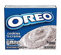 JELL-O Pudding & Pie Filling Instant OREO Cookies N Cream - 4.2 Oz