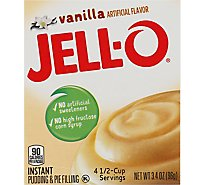 JELL-O Pudding & Pie Filling Instant Vanilla - 3.4 Oz