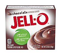 JELL-O Pudding & Pie Filling Instant Chocolate - 3.9 Oz