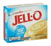 JELL-O Pudding & Pie Filling Instant Sugar Free Vanilla - 1.5 Oz
