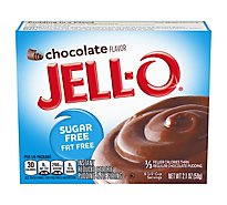 JELL-O Pudding & Pie Filling Instant Sugar Free Chocolate - 2.1 Oz