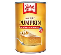Libbys Pumpkin 100% Pure - 15 Oz