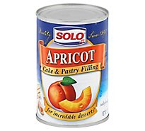 SOLO Cake & Pastry Filling Apricot - 12 Oz