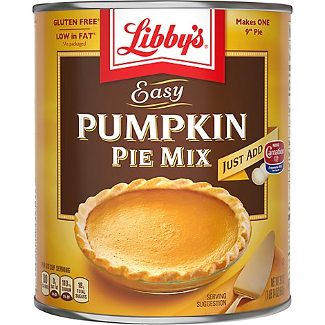 Libbys Pie Mix Easy Pumpkin - 30 Oz