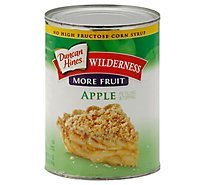 Duncan Hines Wilderness Pie Filling & Topping More Fruit Apple - 21 Oz