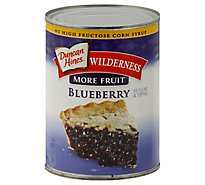 Duncan Hines Wilderness Pie Filling & Topping More Fruit Blueberry - 21 Oz