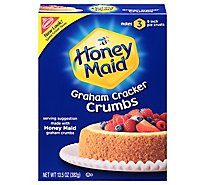 Honey Maid Graham Cracker Crumbs - 13.5 Oz