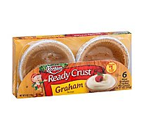 Keebler Ready Crust Pie Crust Graham Mini - 6-0.71 Oz
