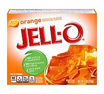 JELL-O Gelatin Dessert Orange - 6 Oz