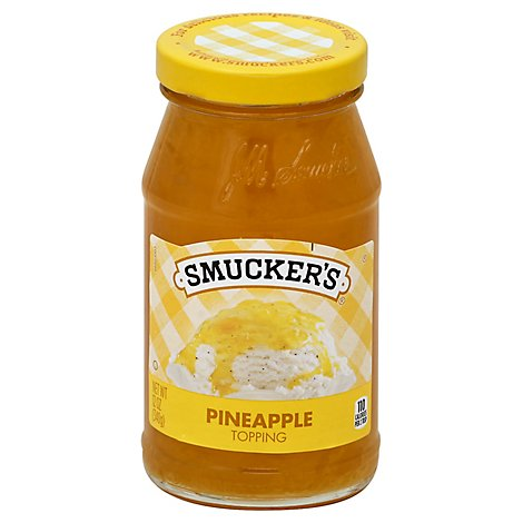 Smuckers Topping Pineapple - 12 Oz