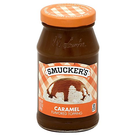 Smuckers Topping Caramel - 12.25 Oz