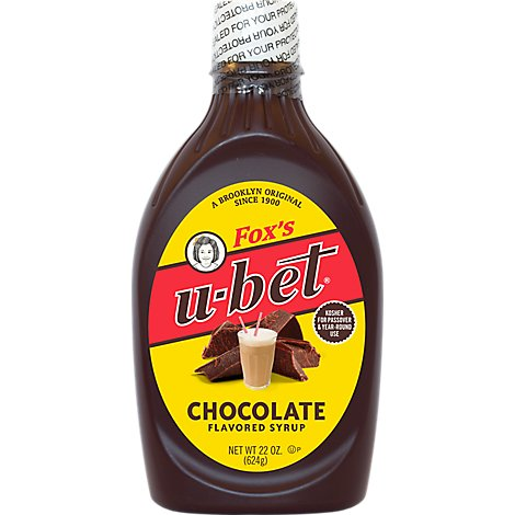 Foxs U-Bet Dessert Topping Syrup Chocolate - 24 Oz