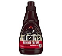 HERSHEYS Syrup Sundae Double Chocolate - 15 Oz