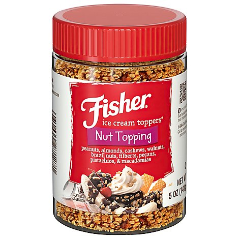 Fisher Nut Topping Mixed Nut Variety - 5 Oz