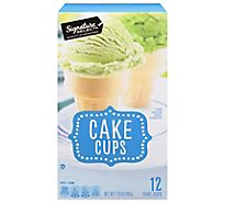 Signature SELECT Cake Cups Lightly Sweetened 12 Count - 1.75 Oz
