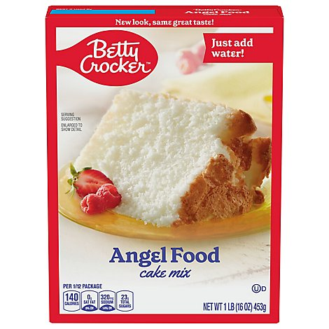 Betty Crocker Cake Mix Angel Food - 16 Oz