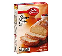 Betty Crocker Cake Mix Pound Cake Mix - 16 Oz